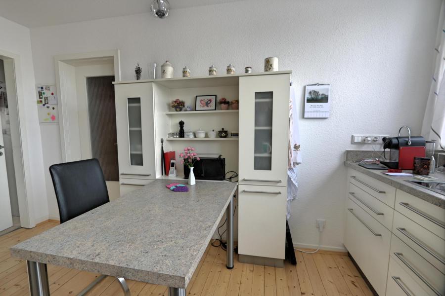 Küche Weiß/grau
